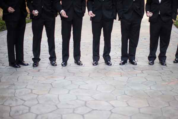 Vintage groomsmen – pocketwatch