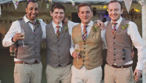 5 Vintage touches for your groomsmen