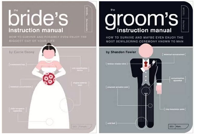Bride-and-groom-instruction-manuals