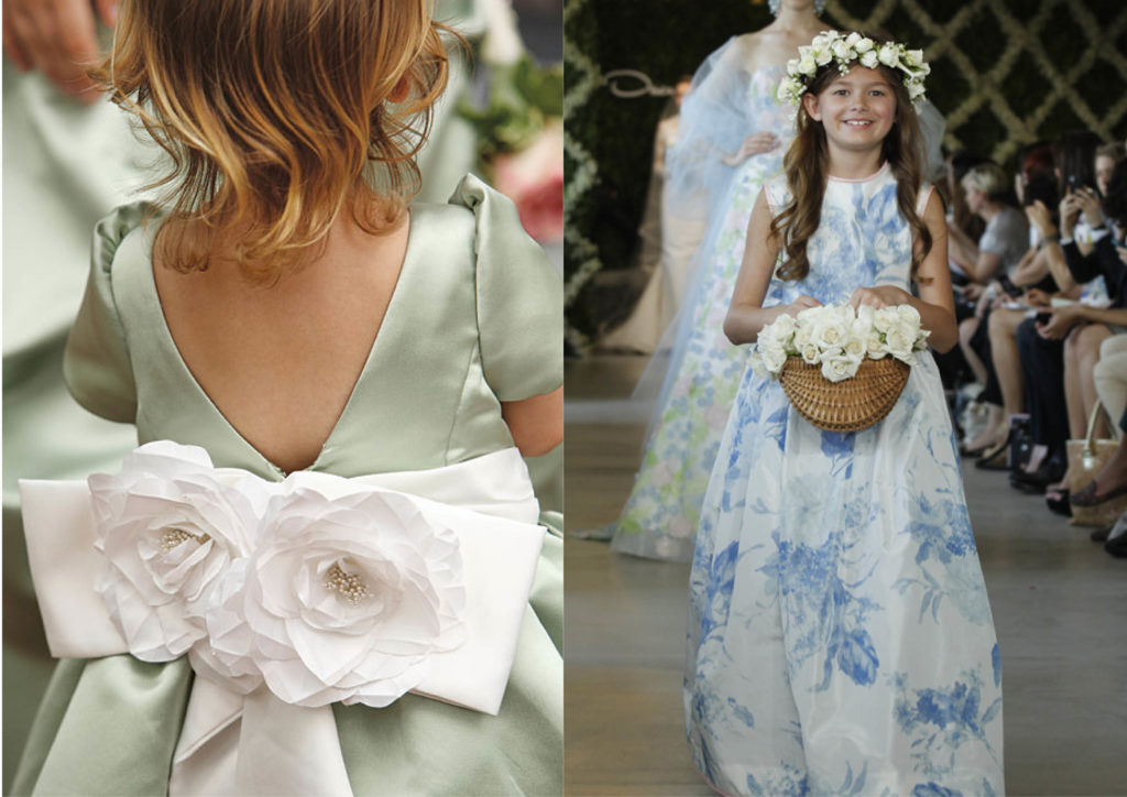 6 Runway-inspired flower girl dresses