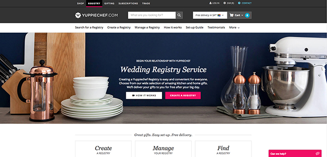 Registry Websites
