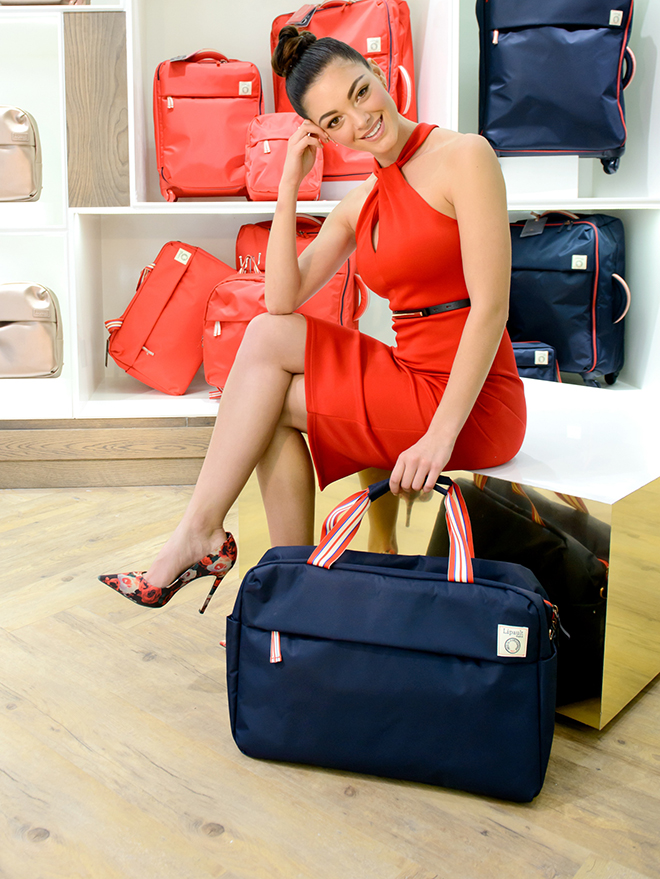 Miss SA with Lipault IDLF – Samsonite