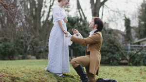 """Amazing """"Pride and Prejudice""""-Themed Proposal"""