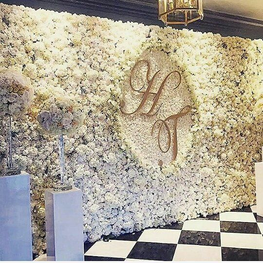 Wall Decoration Ideas Wedding: 5 Stunning Flower Walls To Fall In Love With