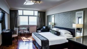 Take in the beauty of Durban's golden coast at Belaire Suites Hotel