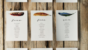Which one of these DIY seating charts is perfect for you?