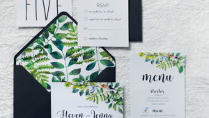 4 wedding stationery trends we love