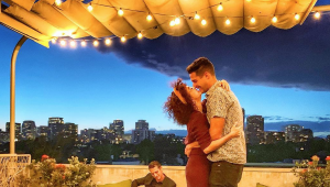 Wells Adams proposed and Sarah Hyland said yes!