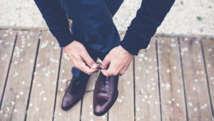 Grooms, put your best footwear forward
