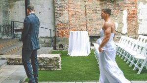 First-look prank groom will never forget