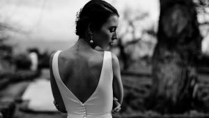 12 Wedding dresses with beautiful back detail