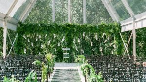 Take your decor to new heights with greenery installations