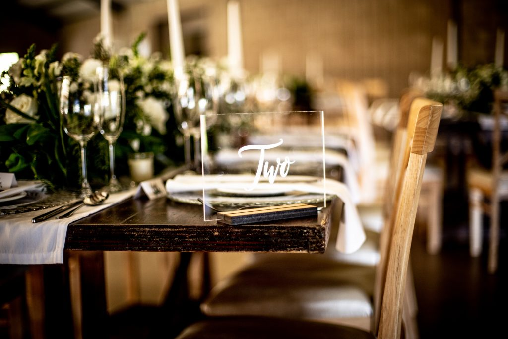 Creative table number ideas