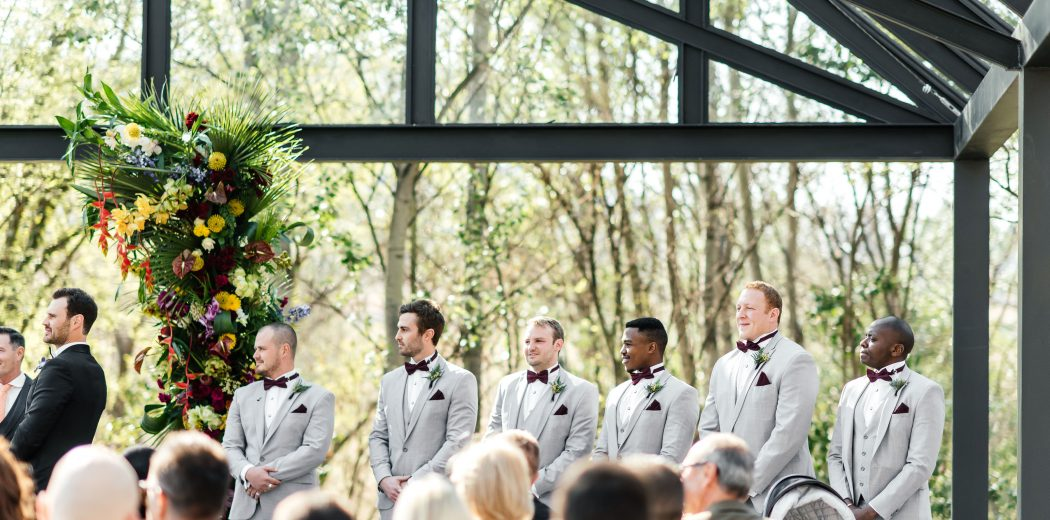 The latest in groomsmen style trends