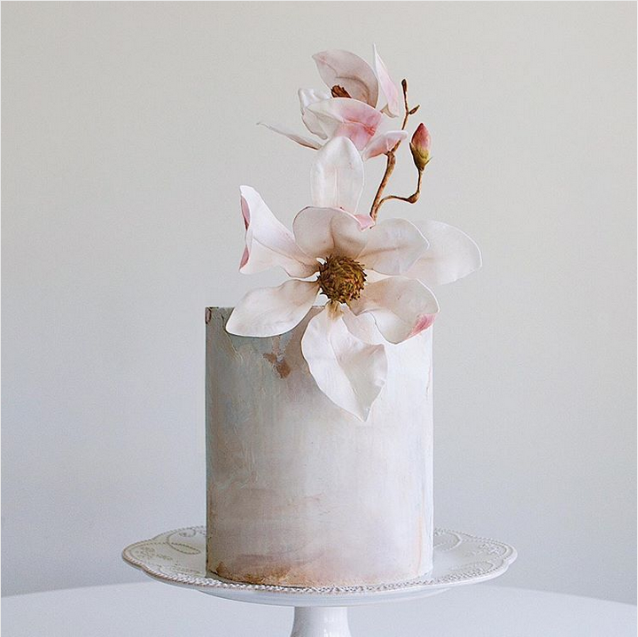 When wedding cakes and art collide