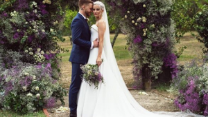Victoria Magrath's wedding weekend and five bridal outfits