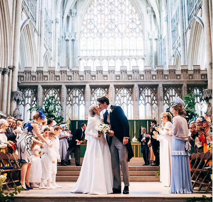All 5 of Ellie Goulding's exquisite wedding looks