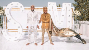 Somizi and Mohale wed in lavish ceremony