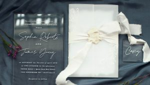 Incorporating perspex into your wedding