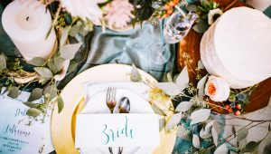 What's trending in the wedding world of: Decor and food