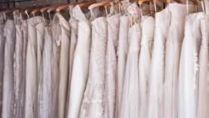 How to clean your wedding dress after the big day