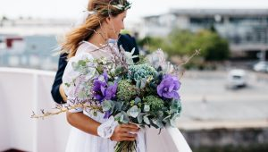 What's trending in the wedding world of: Fashion and beauty