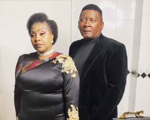 Yvonne Chaka Chaka and husband celebrate 30 years of marriage