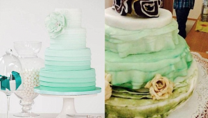 Expectation vs reality - wedding cake fails