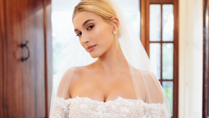 How to get Hailey Bieber's bridal make-up look