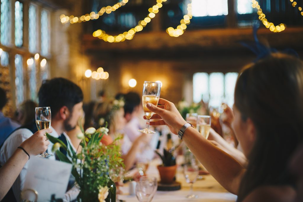 Who to invite to your wedding events