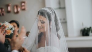 Why brides wear wedding veils