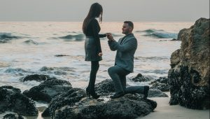 Why we propose on bended knee