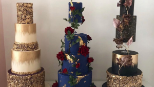Seven over-the-top wedding cakes