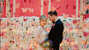 Taylor Swift superfan throws 'Lover' themed wedding