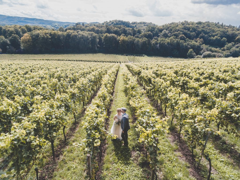 The pros and cons of having a vineyard wedding