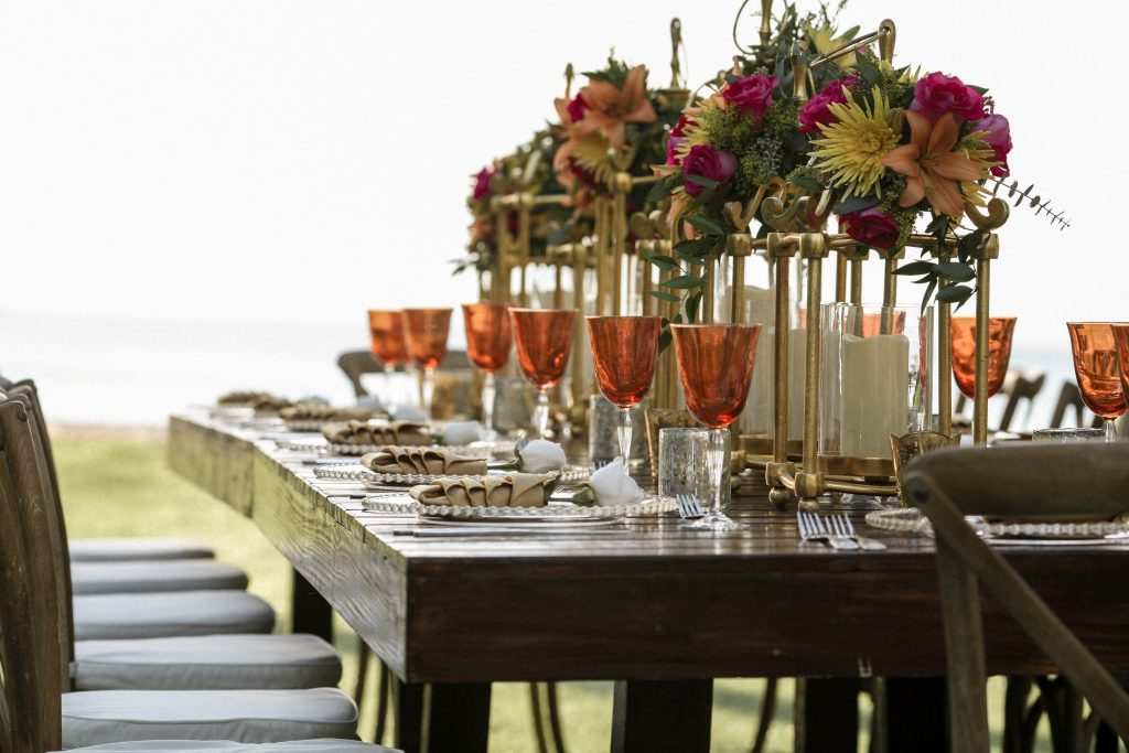Tropical wedding decor inspiration