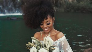Curly hairstyles for your big day