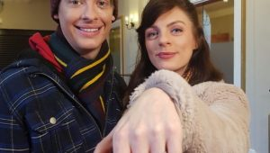 Actor proposes to co-star on stage