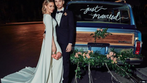 Hilary Duff ties the knot in boho ceremony