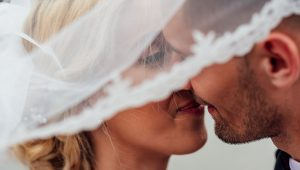 The history of the wedding kiss