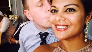 Couple ditches wedding registry for donations