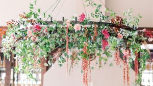 Fantastic floral chandeliers to wow your guests