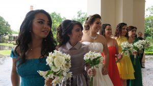 How to pull off mismatched bridesmaid dresses