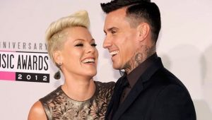 Pink's touching tribute on wedding anniversary