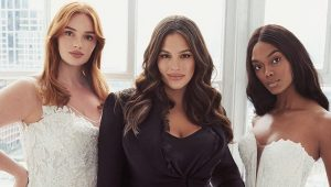 Ashley Graham launches size-inclusive bridal line
