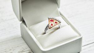 Domino's unveils R130k pizza engagement ring