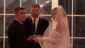 Justin and Hailey release new wedding footage