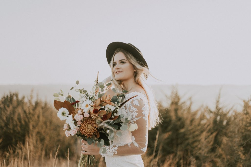 Bridal hats to have you brimming with confidence