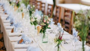 Banquet table decor inspiration