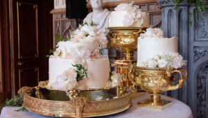 Royal wedding cakes throughout history